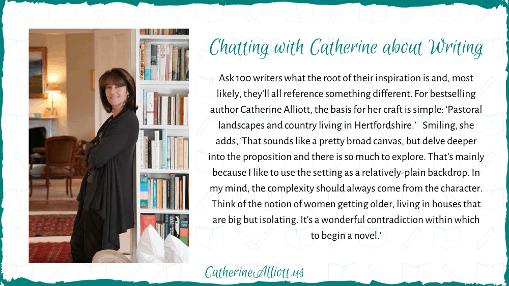 Chatting with Catherine about Writing