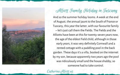 Alliott Family Holiday – Tuscany