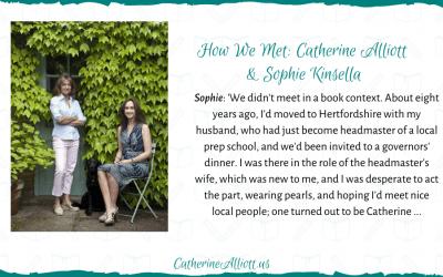 How We Met: Catherine Alliott & Sophie Kinsella